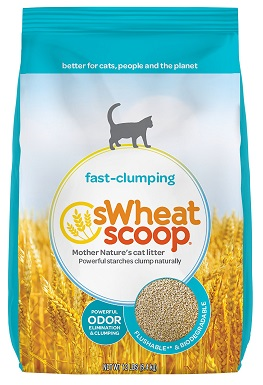 sWheat Scoop Natural Unscented Clumping Wheat Cat Litter.jpg