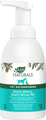 Ark Naturals Don't Worry Don't Rinse Me Waterless Dog & Cat Shampoo