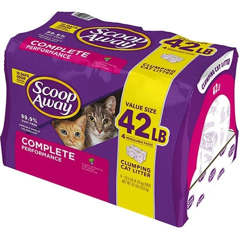 Scoop Away Complete Performance Fresh Scented Clumping Clay Cat Litter