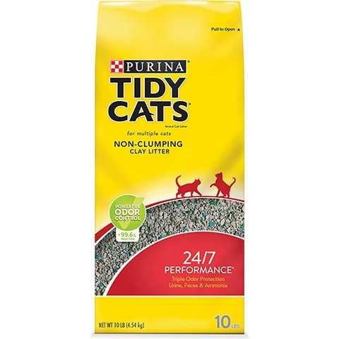 Tidy Cats 24:7 Performance Scented Non-Clumping Clay Cat Litter