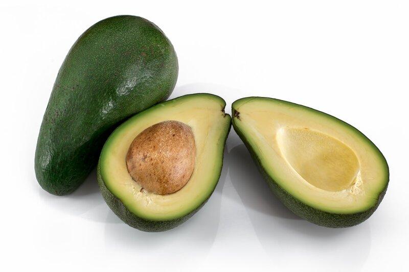 avocado pixabay white background food